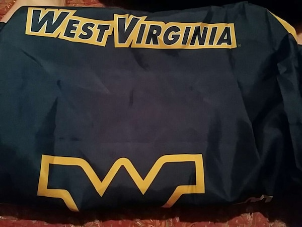 Used Wvu Shower Curtain For Sale In New Martinsville