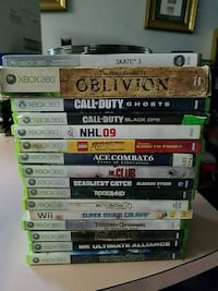 Misc xbox 360 games Langley Township, V4W 3E8