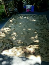130x94 tan area rug NEEDS TO BE CLEANED  Red Oak, 75154