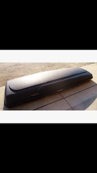 black and gray leather ottoman New Tecumseth, L0G 1A0