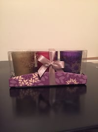 3 candle set - brand new  Troutville, 24175