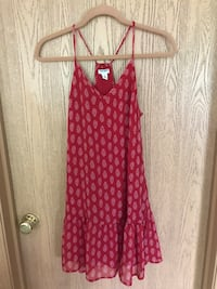 Old Navy red patterned dress McHenry