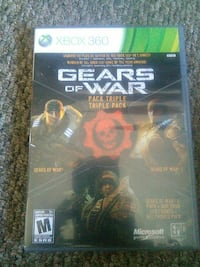 Gears of war triple pack comes with 1day xbox live