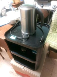 Breville with the black mini table. Yonkers, 10701