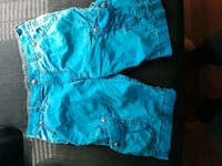Baby Blue Rock Revival shorts Indianapolis