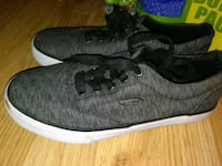 pair of black low-top sneakers Champaign, 61820