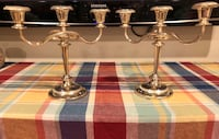 Vintage 3 Candle Silverplate Candelabra Rockville, 20853