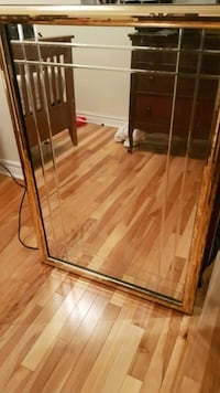 Big gold contour mirror Ottawa