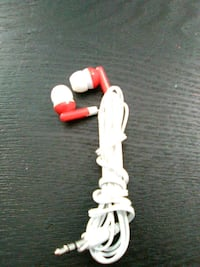 white and red headphones  2464 km