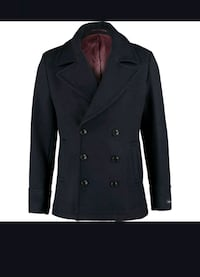 FERAUD  Navy Blue Wool Coat /For Men  Rælingen, 2008