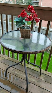 Patio or balcony table Mississauga, L5V 2M3