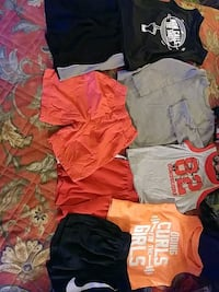 Little boys shirts and shorts - size 2t