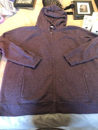 Purple zip up hoodie Edmonton, T6X 0N1