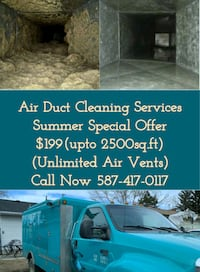 Air Duct Cleaning Services now in $199 Edmonton
