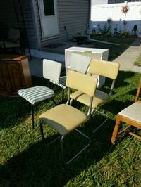 white and brown wooden chairs Gibsonburg, 43431