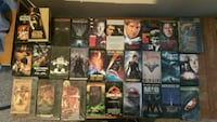 assorted-title VHS tapes Cadillac, 49601