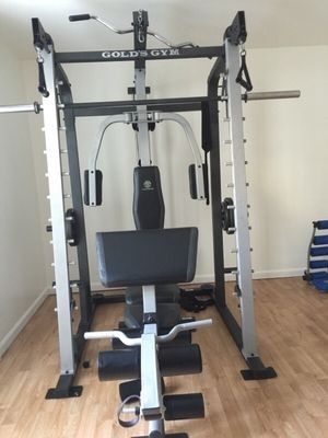 Used gold s gym platinum home gym for sale in frederick letgo