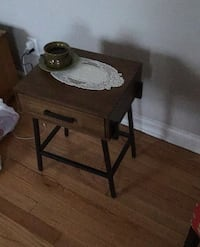 Coffee table with desk drawer