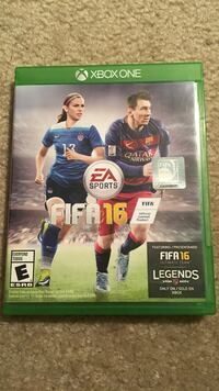 FIFA 16 for Xbox one.  Fairfax, 22031