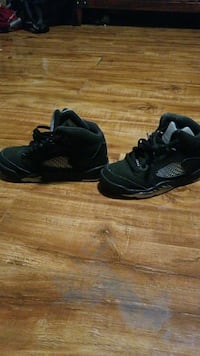 Black Jordans for kids New York, 10031