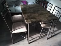 black and white wooden dining set Longueuil, J4L