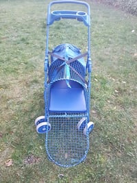 blue mesh metal trolley pet carrier Victoria, V9A 1N5