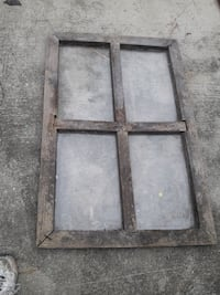 Extremely old and very rare handcrafted window