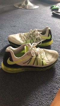 pair of white-and-yellow Nike running shoes Mount Wolf, 17347