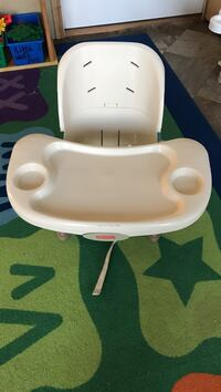 white and gray Fisher-Price high chair Ridgeley, 26753