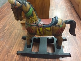 Antique Reproduction wooden Horse
