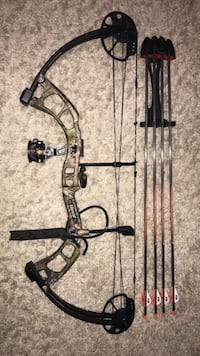black and brown compound bow Baltimore, 21222