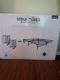 BRAND NEW Queen foldable bed frame 974 mi