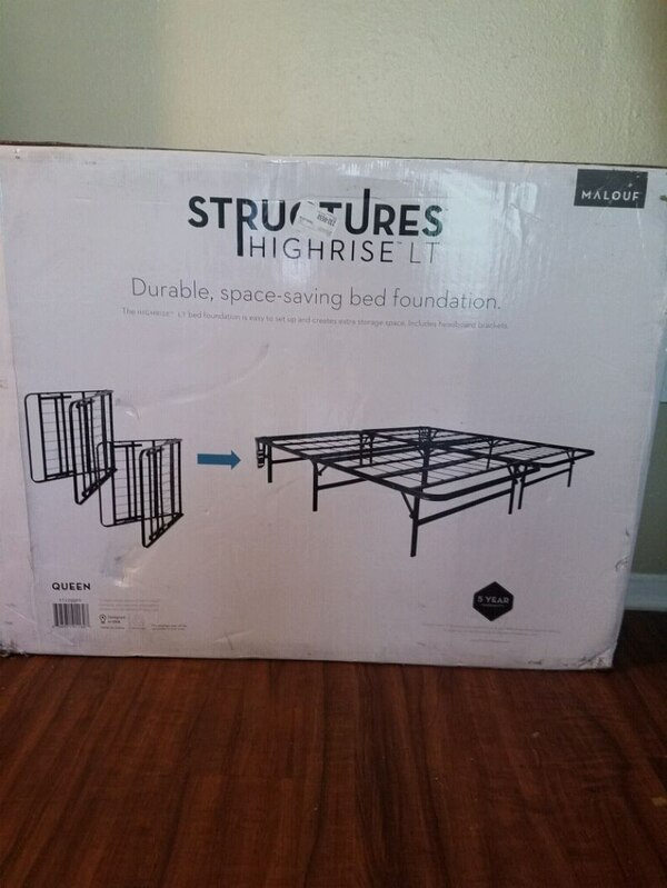 BRAND NEW Queen foldable bed frame