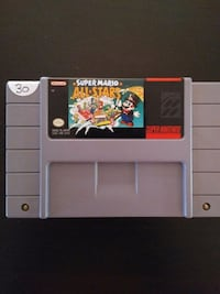 Super Mario All Stars for Super Nintendo SNES  Vaughan, L4L