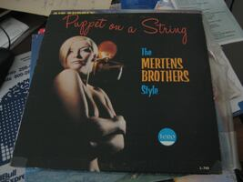 The Mertens Brothers Style - Puppet on a String - Vinyl Album