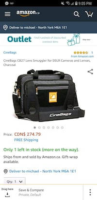 CINEBAGS bag for dslr camera 544 km
