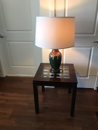 Lamp and table North Andover, 01845