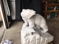 Bear & Cub in marble null, T8T