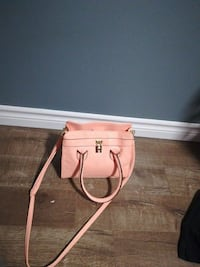 peach-colored 2-way tote bag Levis, G6C 1N6