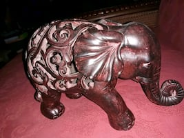 Carved Wooden Elephant