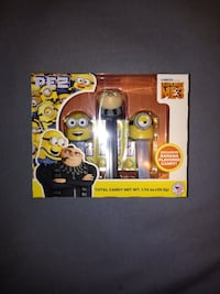 Despicable Me 3 candy dispenser package Vaughan, L4H 2X4