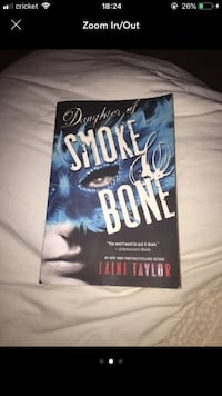 The daughter of smoke and bones Raleigh, 27610