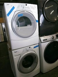 two white front-load washing machines Baltimore, 21223