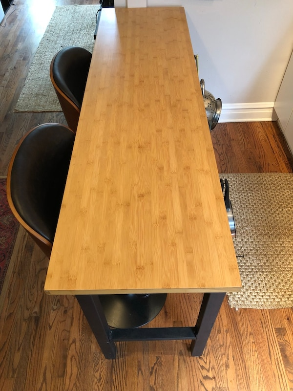 Bamboo Workbench / Kitchen Island
