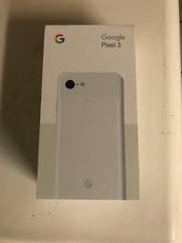 Clearly White - Pixel 3 128GB (UNLOCKED) Garden Grove, 92841