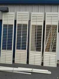 Tall interior shutters 8ft 4in. 2 pairs Lakeland, 33803
