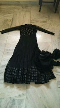 black long-sleeved dress Hyderabad
