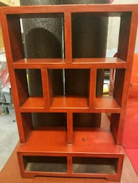Small wooden display case