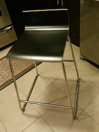 Two Black Bar Stools New Westminster