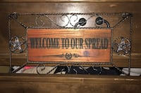 """Western  """"Welcome To Our Spread"""" sign Las Vegas, 89108"""